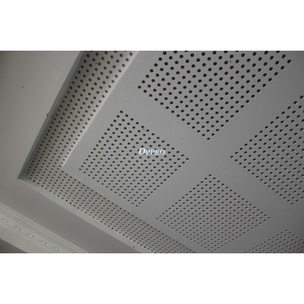Oppeo Perforated gypsum board, take use of high density gypsum board ...